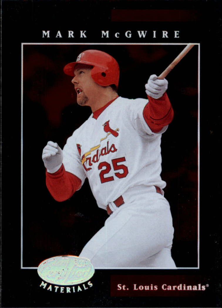 2001 Leaf Certified Materials #15 Mark McGwire