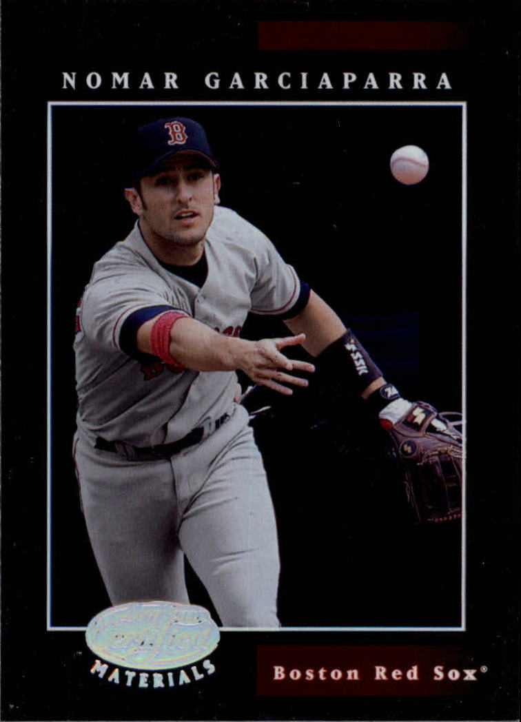 2001 Leaf Certified Materials #17 Nomar Garciaparra