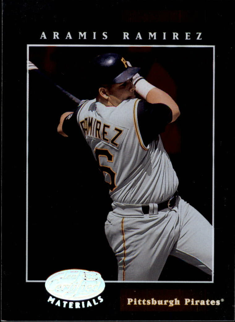 2001 Leaf Certified Materials #109 Aramis Ramirez