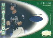 2001 Leaf Certified Materials #111 Alex Escobar FF Fld Glv
