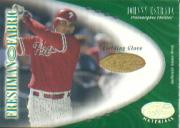 2001 Leaf Certified Materials #112 Johnny Estrada FF Fld Glv RC