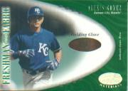 2001 Leaf Certified Materials #117 Alexis Gomez FF Fld Glv RC