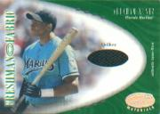 2001 Leaf Certified Materials #131 Abraham Nunez FF Spikes