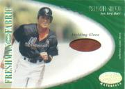 2001 Leaf Certified Materials #143 Tsuyoshi Shinjo FF Base RC