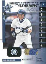 2001 Leaf Rookies and Stars Statistical Standouts Super #SS1 Ichiro Suzuki