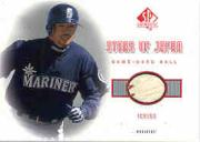 2001 SP Authentic Stars of Japan Game Ball #BBIS Ichiro Suzuki