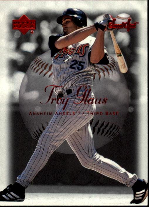 2001 Sweet Spot #1 Troy Glaus