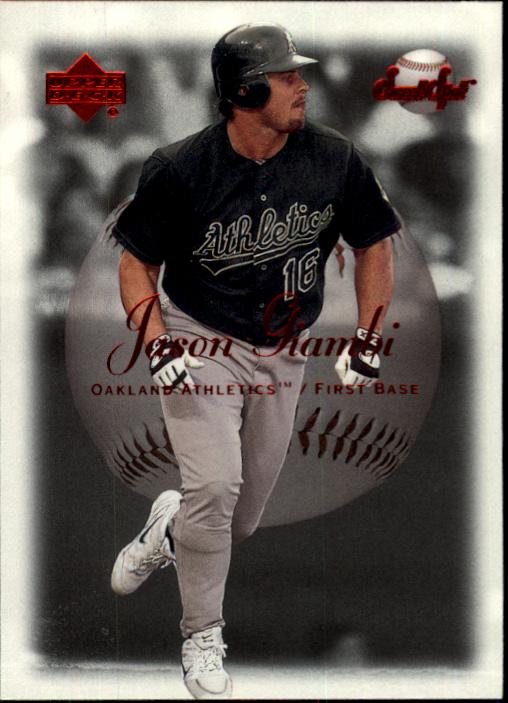 2001 Sweet Spot #3 Jason Giambi
