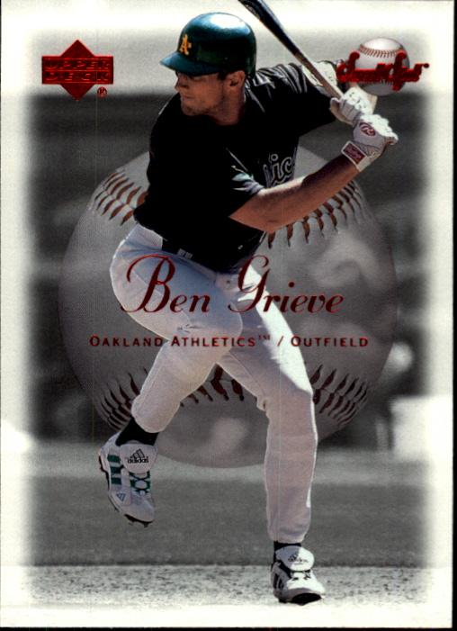2001 Sweet Spot #5 Ben Grieve