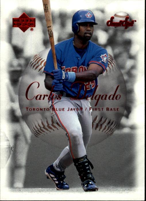 2001 Sweet Spot #6 Carlos Delgado