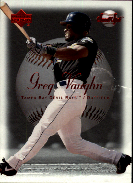 2001 Sweet Spot #8 Greg Vaughn