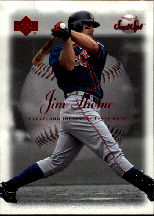 2001 Sweet Spot #10 Jim Thome