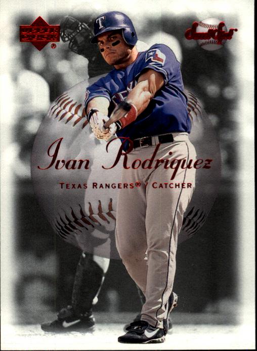 2001 Sweet Spot #15 Ivan Rodriguez