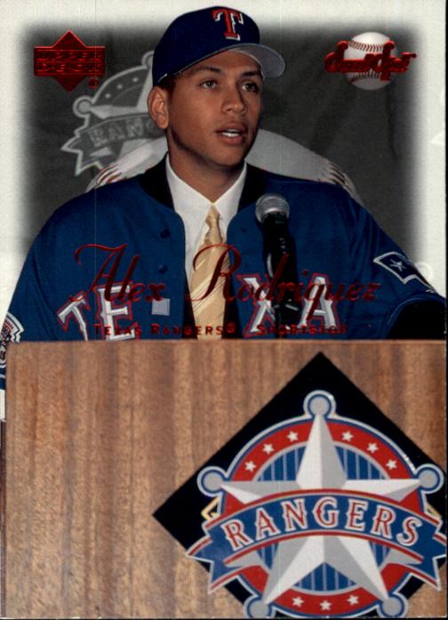 2001 Sweet Spot #16 Alex Rodriguez Rangers