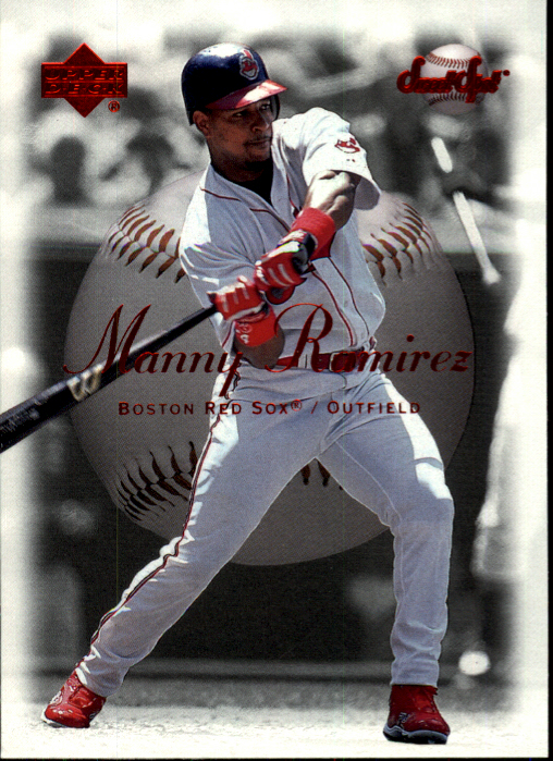 2001 Sweet Spot #19 Manny Ramirez