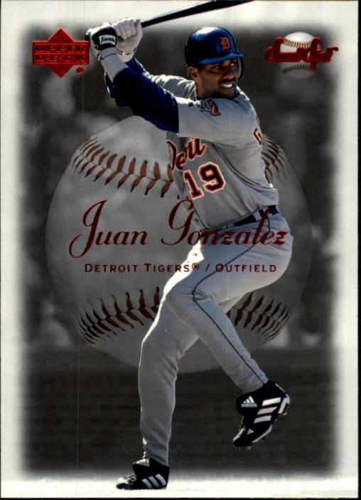 2001 Sweet Spot #21 Juan Gonzalez
