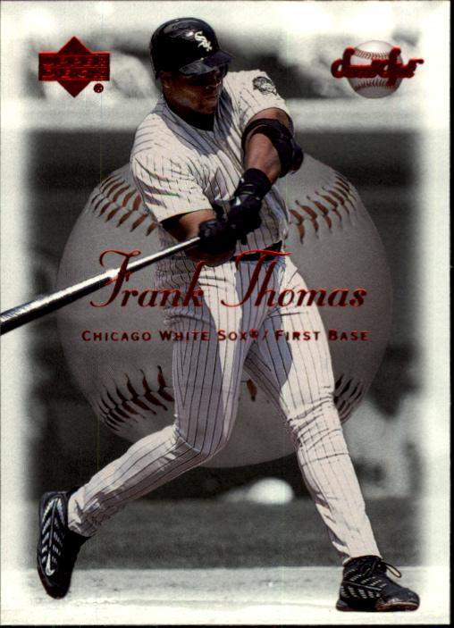 2001 Sweet Spot #25 Frank Thomas