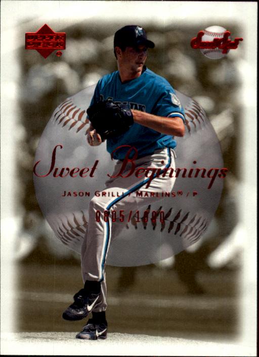 2001 Sweet Spot #63 Jason Grilli SB