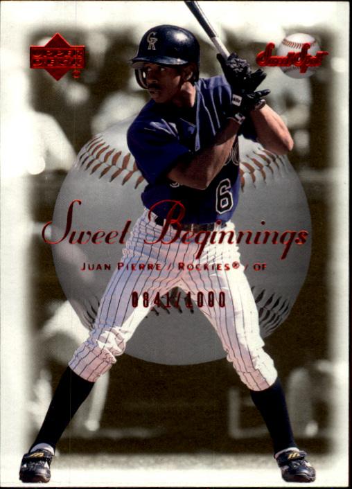 2001 Sweet Spot #65 Juan Pierre SB