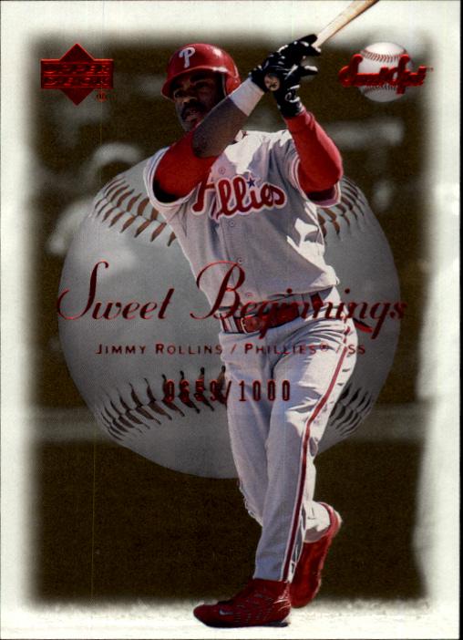2001 Sweet Spot #67 Jimmy Rollins SB