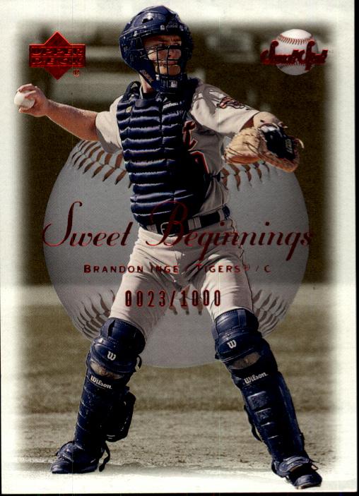 2001 Sweet Spot #79 Brandon Inge SB