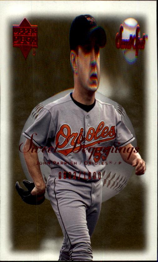 2001 Sweet Spot #83 John Parrish SB