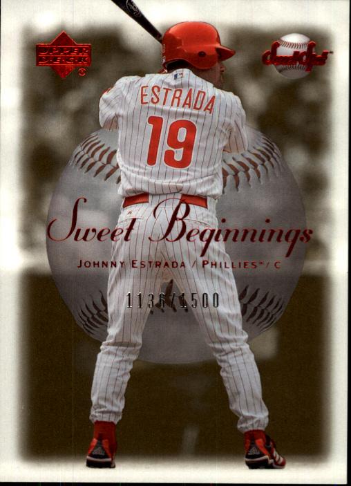 2001 Sweet Spot #122 Johnny Estrada SB RC