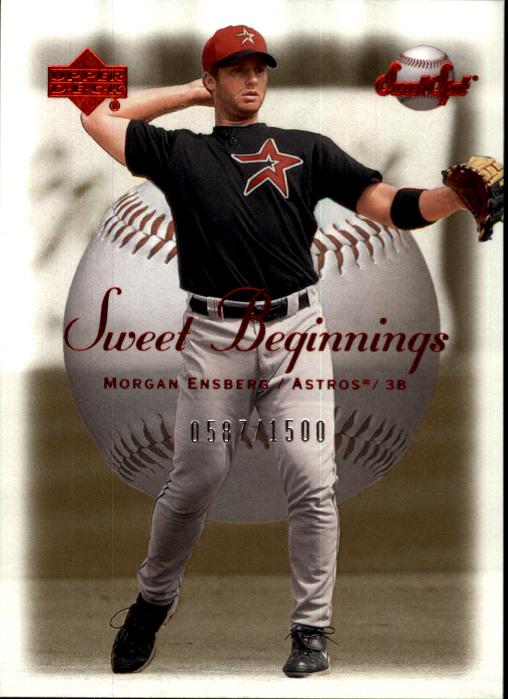 2001 Sweet Spot #125 Morgan Ensberg SB RC