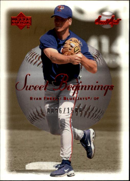 2001 Sweet Spot #132 Ryan Freel SB RC