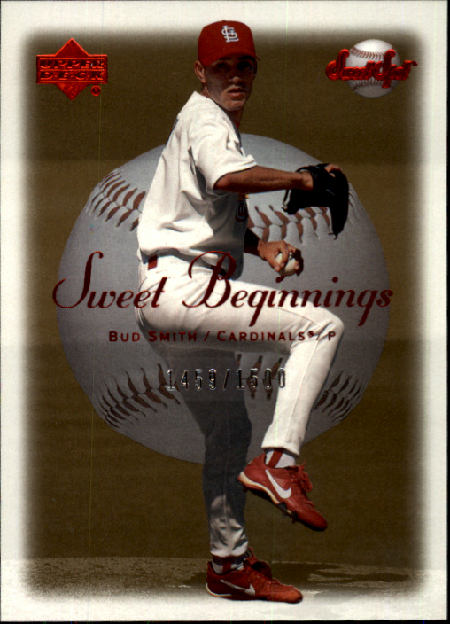 2001 Sweet Spot #137 Bud Smith SB RC