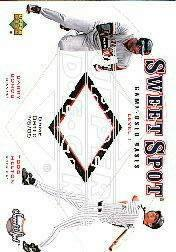 2001 Sweet Spot Game Base Duos #B1BH Barry Bonds/Todd Helton