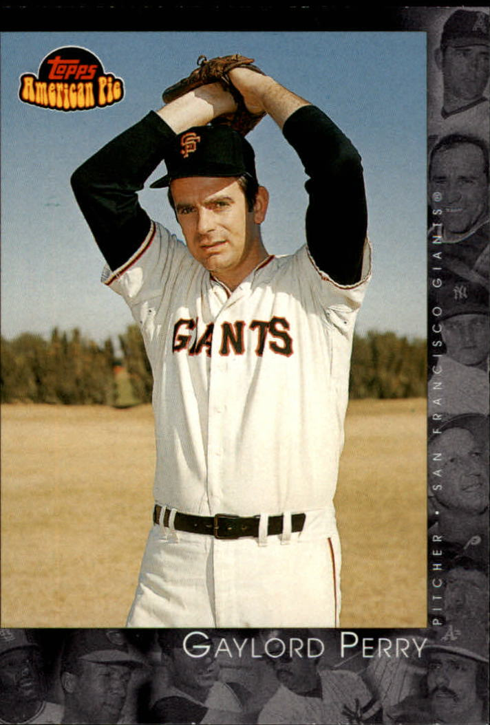 2001 Topps American Pie #33 Gaylord Perry