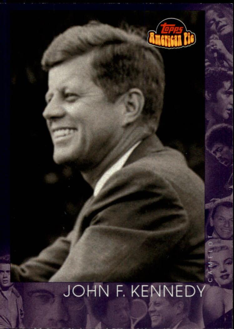 2001 Topps American Pie #141 John F. Kennedy