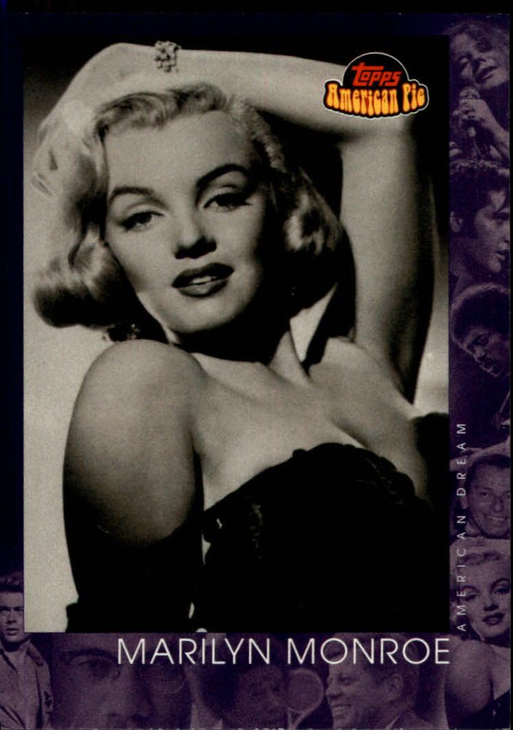 2001 Topps American Pie #142 Marilyn Monroe