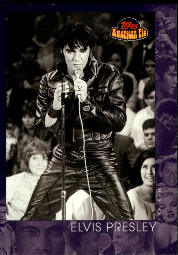 2001 Topps American Pie #143 Elvis Presley