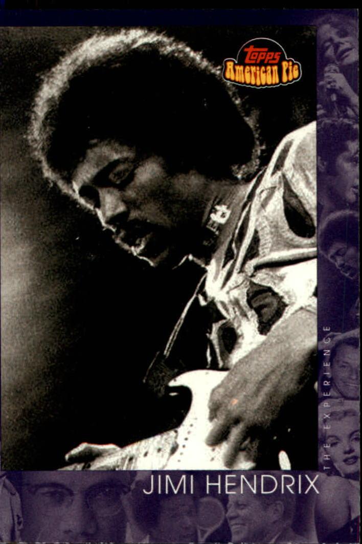 2001 Topps American Pie #144 Jimi Hendrix