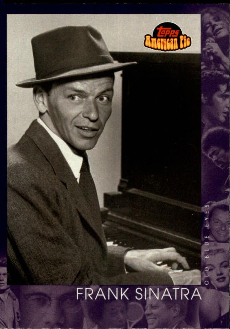 2001 Topps American Pie #149 Frank Sinatra