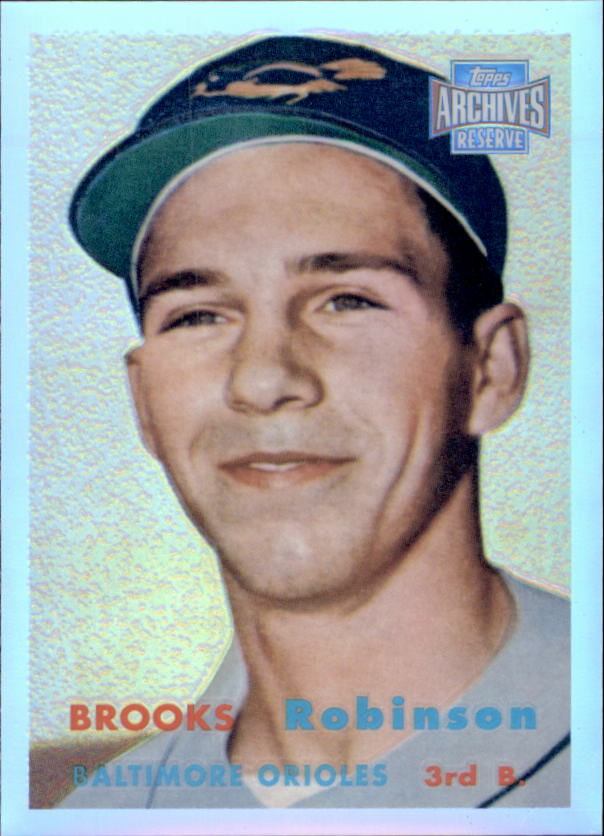 2001 Topps Archives Reserve #2 Brooks Robinson 57