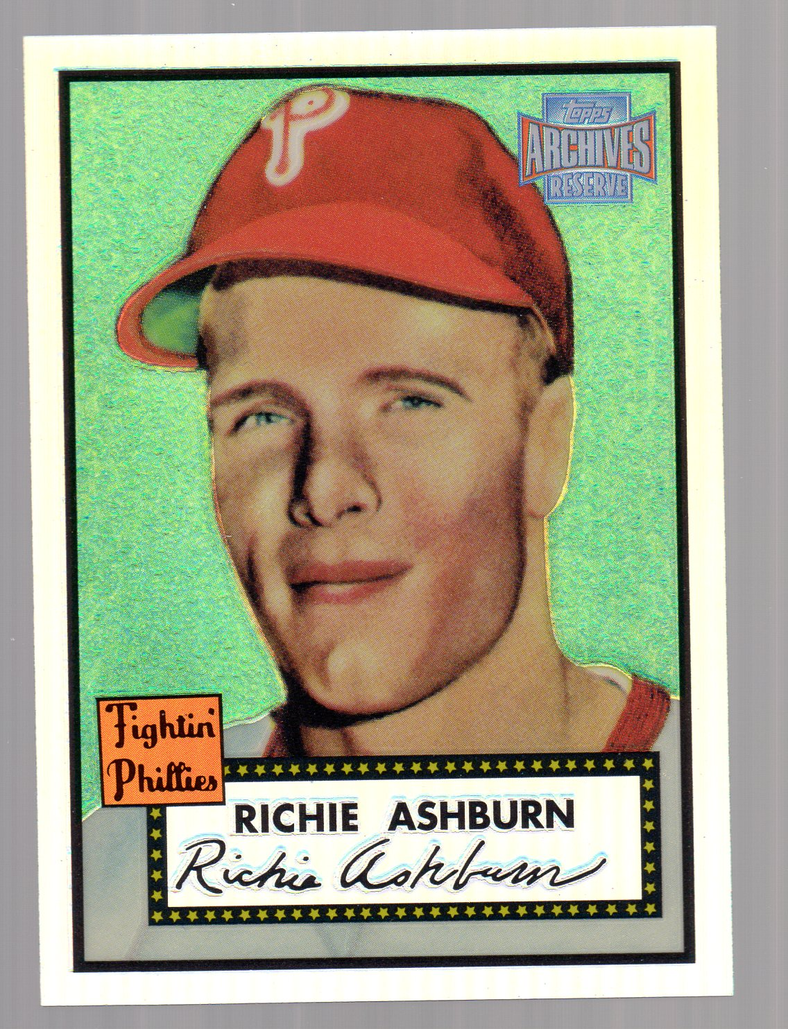 2001 Topps Archives Reserve #4 Richie Ashburn 52