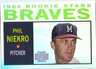 2001 Topps Archives Reserve #60 Phil Niekro 64