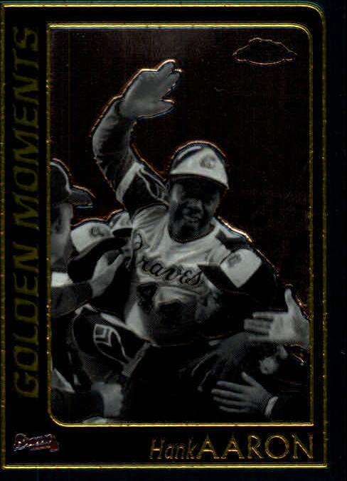 2001 Topps Chrome #310 Hank Aaron GM