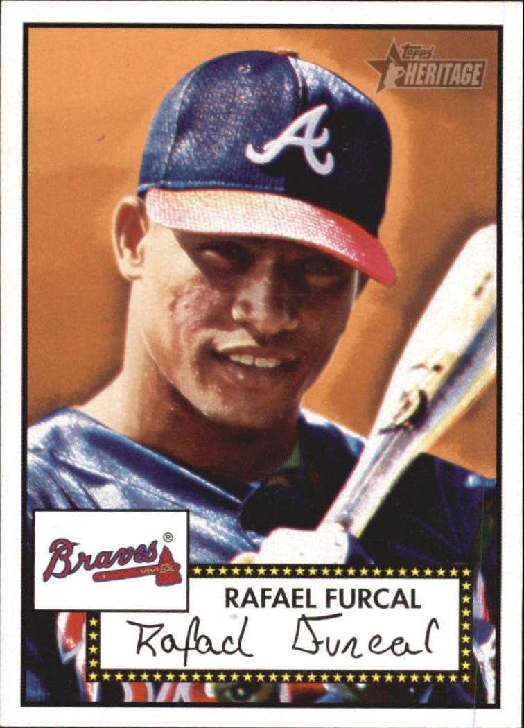 2001 Topps Heritage #30 Rafael Furcal