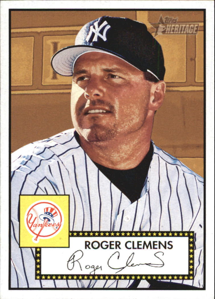 2001 Topps Heritage #48 Roger Clemens
