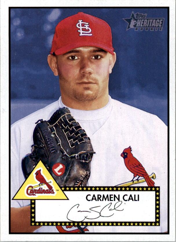 2001 Topps Heritage #89 Carmen Cali RC