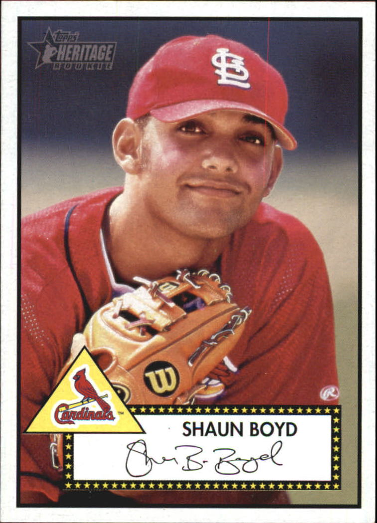 2001 Topps Heritage #111 Shaun Boyd RC