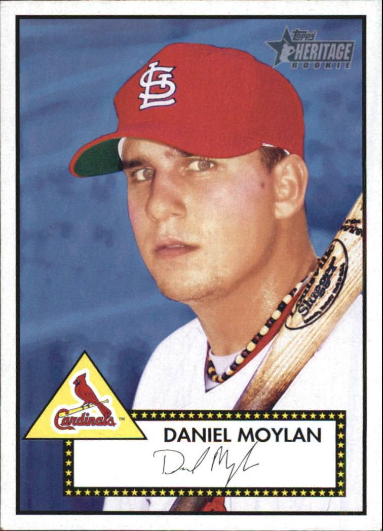 2001 Topps Heritage #198 Dan Moylan RC