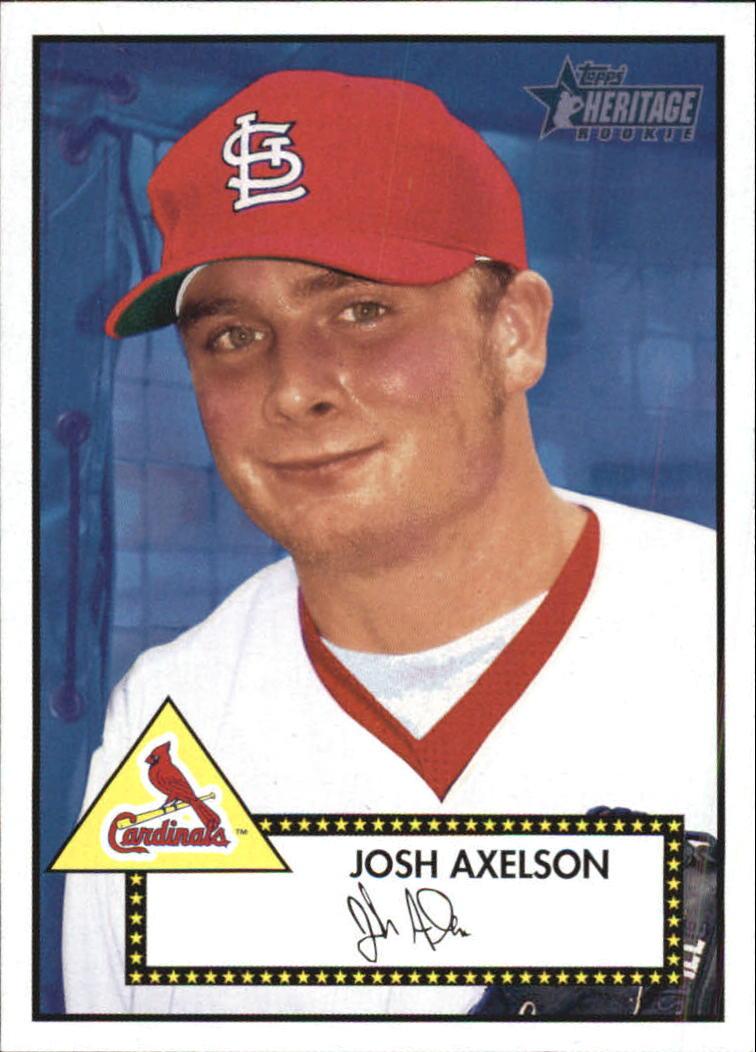 2001 Topps Heritage #225 Josh Axelson RC