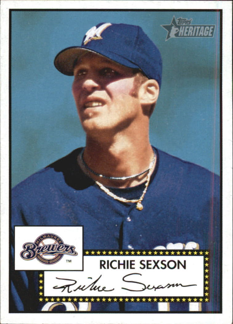2001 Topps Heritage #236 Richie Sexson