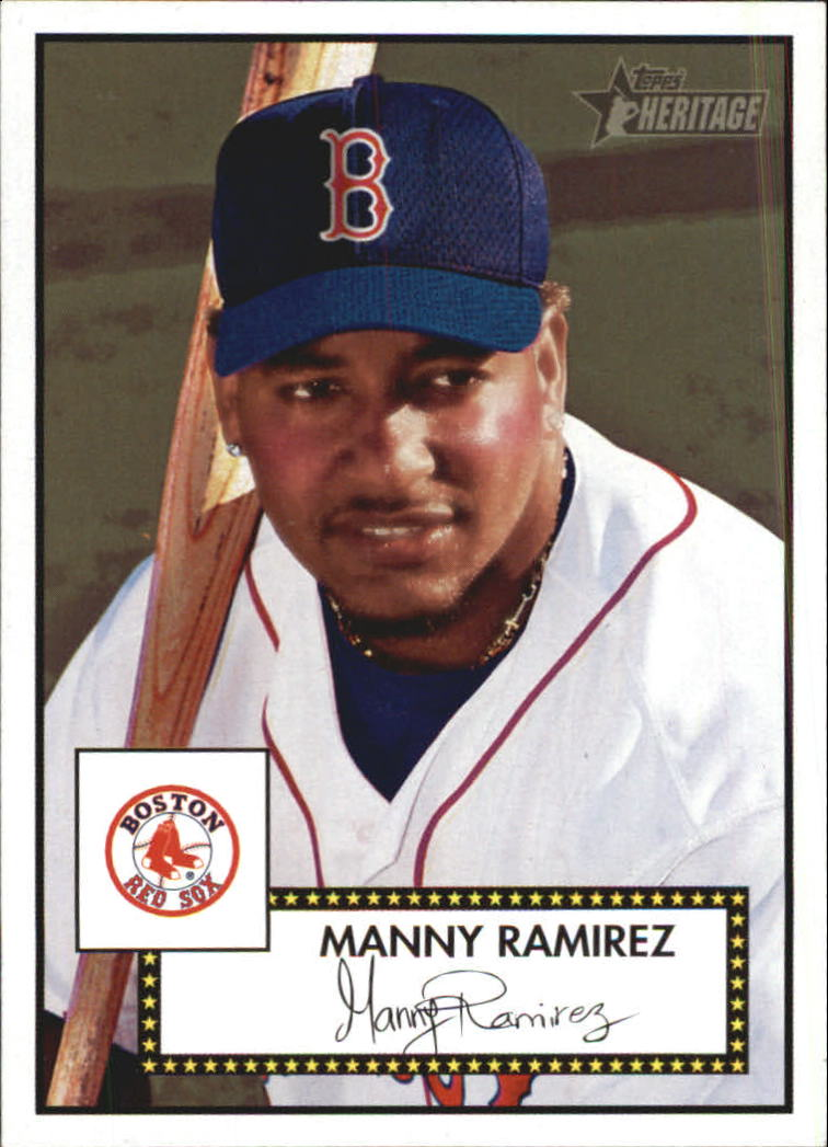 2001 Topps Heritage #243 Manny Ramirez Sox