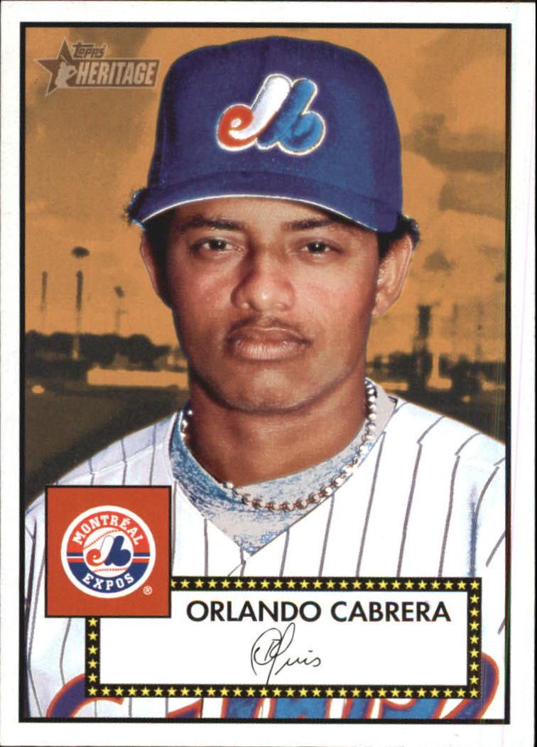 2001 Topps Heritage #276 Orlando Cabrera